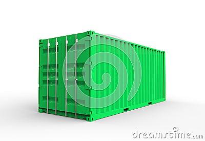 Green cargo container