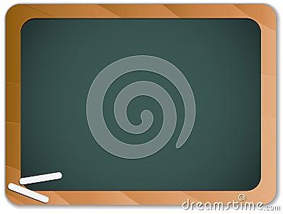 Green Chalk Blackboard