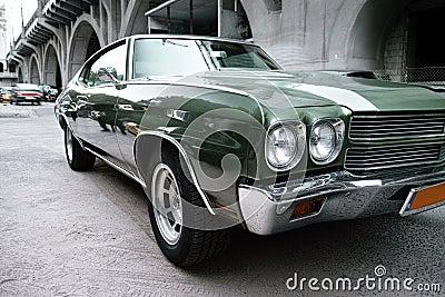 Green Chevrolet Malibu