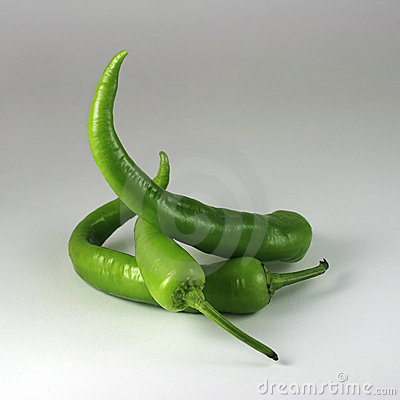 Free Green Chili Peppers Royalty Free Stock Photography - 17797647
