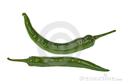 Green Chillies Macro