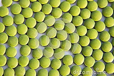 Green Chlorella Tablets