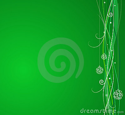 Free Green Christmas Background Stock Image - 6578681
