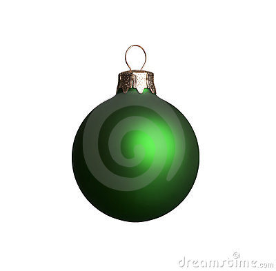 Free Green Christmas Ornament Stock Photography - 3441902