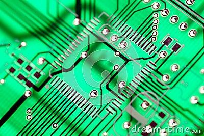 Green Circuit Board HiTech