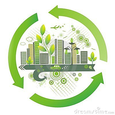 Free Green City. Environment Background. Royalty Free Stock Photos - 9450438