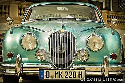 Green Classic Car Free Public Domain Cc0 Image