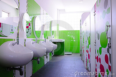 Green and clean child toilet
