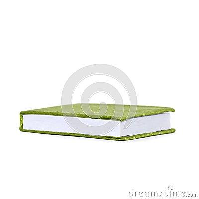 Green cloth cover book