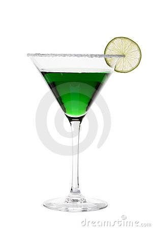 Free Green Cocktail Royalty Free Stock Photography - 18258857