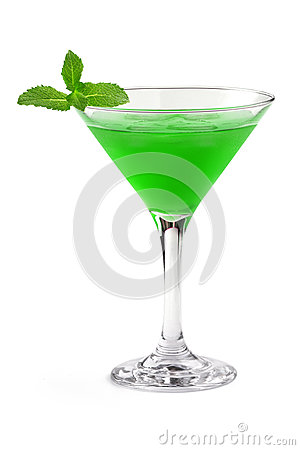 Free Green Cocktail Stock Image - 41588751