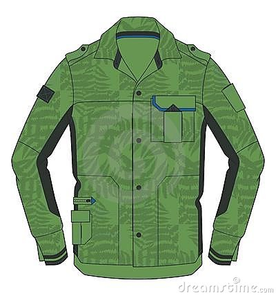 Green cold jacket
