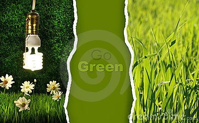 Green collection of eco-friendly photos