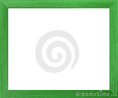 Green Coloured Photo Frame