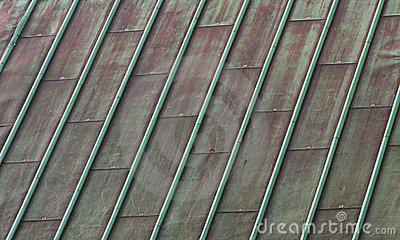 Green Copper Roof Stock Photos Image 4802153