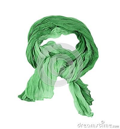 Green cotton scar