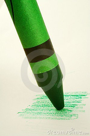 Green Crayon Royalty F...