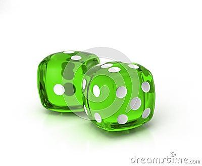 Green dice 2