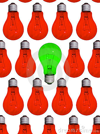 Free Green Different Lamp Stock Photos - 6498423