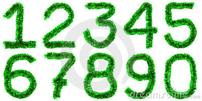 Green digits