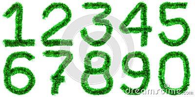 Green digits