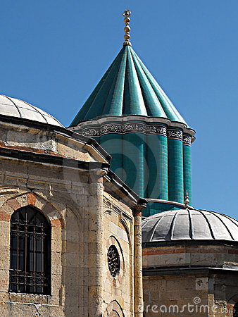 Green Dome, Mevlana Mausoleum, Konya, Turkey
