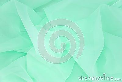 Green drapery