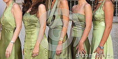 Green dresses - Mexico