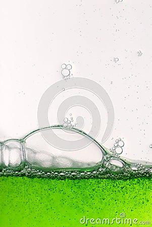 Free Green Drops Border Stock Photography - 6157092