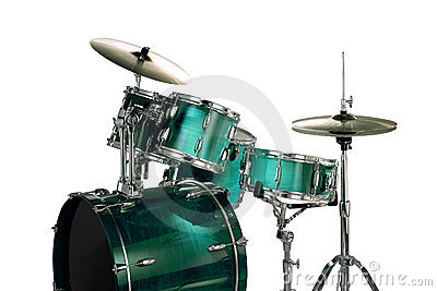 Green Drums Stock Images - Image: 4366324