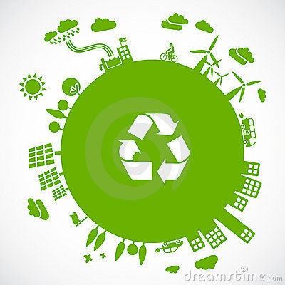 Free Green Earth Royalty Free Stock Photo - 16126975