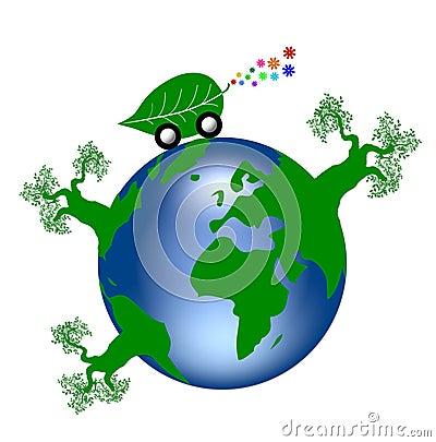 Free Green Earth Stock Photo - 5980980
