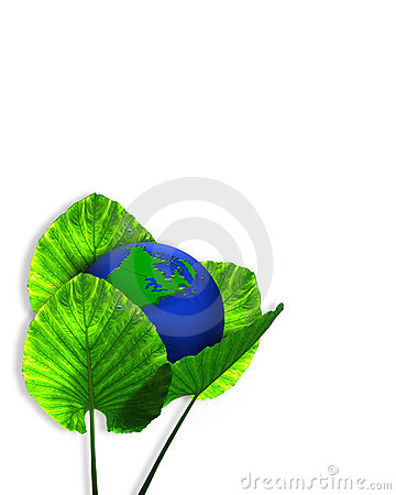 Green Earth Ecology graphic 3D
