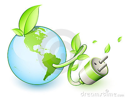Green Earth Electric Plug