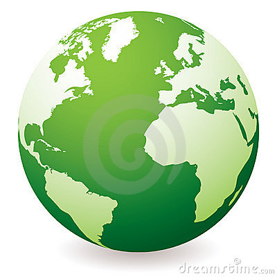 Free Green Earth Globe Royalty Free Stock Photo - 13482865