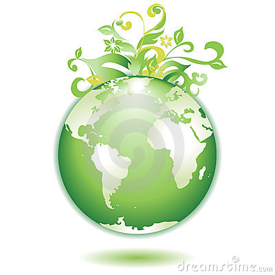 Green Earth leaves