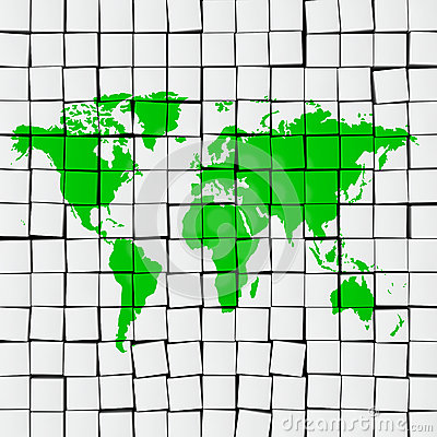 Earth map tiles