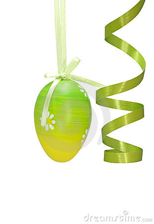 Free Green Easter Egg Stock Images - 4297794