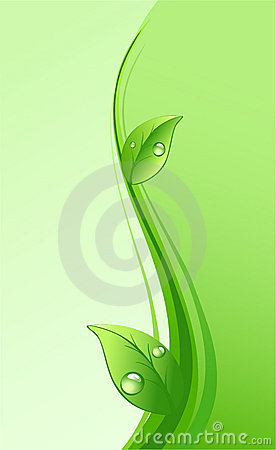 Free Green Eco Background Stock Photo - 14037420