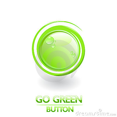 Green ecology button