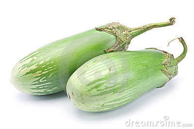 Green eggplant vegetable