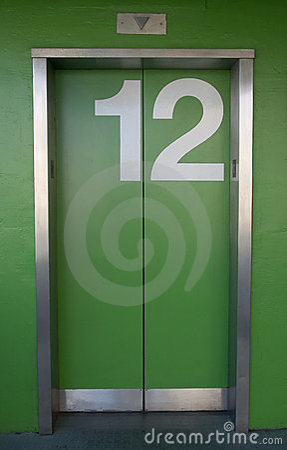 Free Green Elevator Stock Image - 449901
