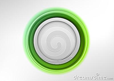 Green emblem