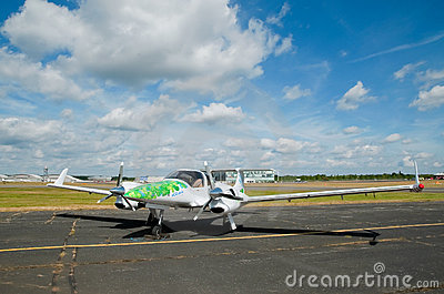 Green energy aircraft Editorial Photography