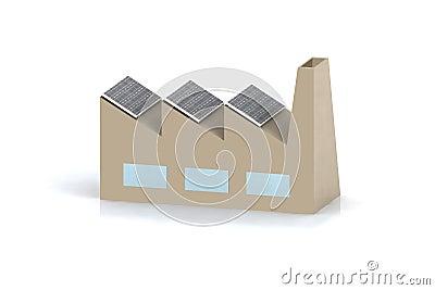 Green energy factory concept