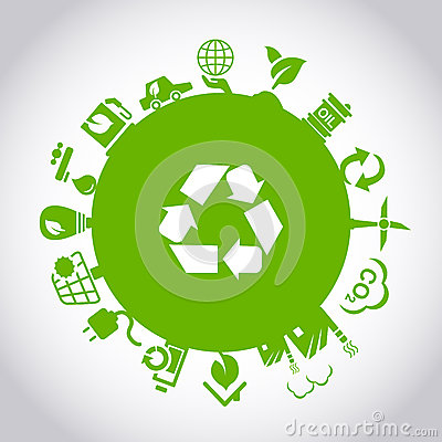 Free Green Environment ECO Concept Royalty Free Stock Images - 53548919