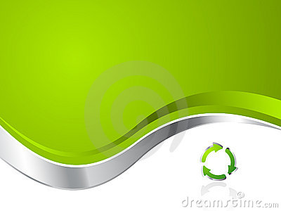 Green Environmental Recycling Business Background