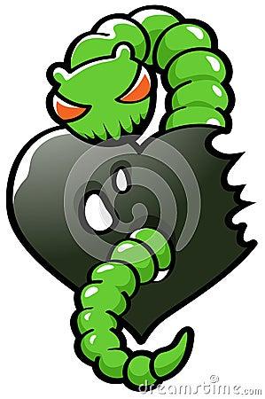 Green Envy Worm