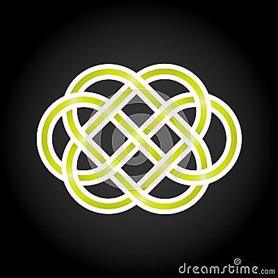 Green eternal knot