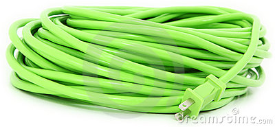 Green Extention Cord